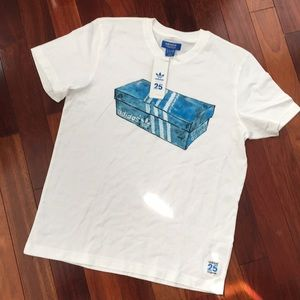 ADIDAS NIGO 25 Men's Box T-Shirt Size M